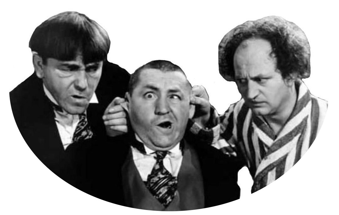 The Three Stooges - perfect for the Obama administration